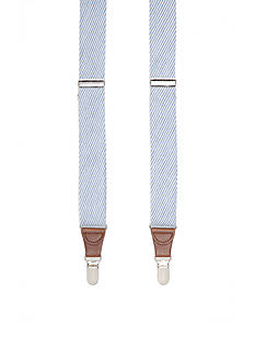 Saddlebred® 1.25-in. Woven Seersucker Suspenders