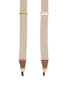 Saddlebred® Big & Tall Double Diamond Stretch Clip Suspenders