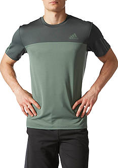 adidas® Short Sleeve Tech Tee