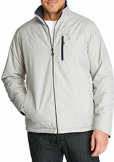 IZOD Reversible Ripstop Puffer Jacket