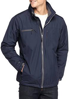 IZOD Ripstop Midweight Jacket with Polar Fleece Lining