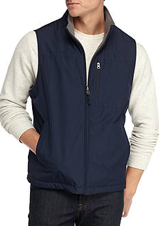 IZOD Ripstop Vest with Fleece Lining