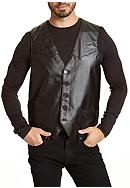 Excelled Premium Lambskin Leather Vest