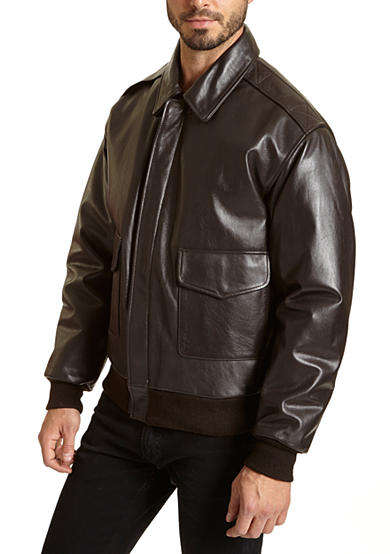 Excelled Leather A-2 Bomber Jacket