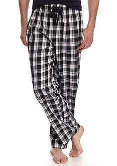 IZOD Plaid Woven Lounge Pants