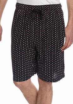 IZOD Circle and Square Print Lounge Shorts