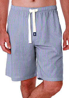 IZOD Big & Tall Striped Pajama Shorts