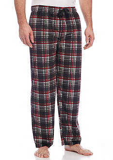 IZOD Big & Tall Matte Silky Fleece Lounge Pants