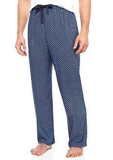 IZOD Big & Tall Neats Print Rayon Lounge Pants