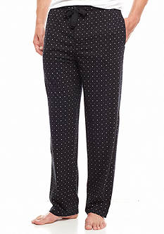 IZOD Geometric Printed Knit Lounge Pants