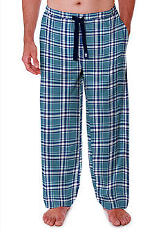 IZOD Big & Tall Plaid Pajama Pant
