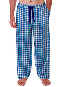 IZOD Big & Tall Buffalo Plaid Print Pajama Pant