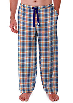 IZOD Big & Tall Plaid Pajama Pants