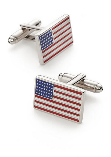 Saddlebred® American Flag Cufflinks