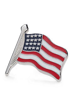 Saddlebred® Small Waving American Flag Lapel Pin