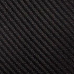 Black Tie: Black Saddlebred Derby Twill Stripe Tie