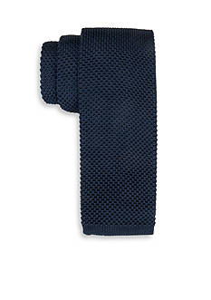 Saddlebred Gamma Solid Knit Tie