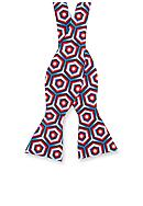 Saddlebred® Self Tie Norwood Geo Bow Tie