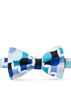 Saddlebred Happy Eel Abstract Bow Tie