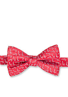 Saddlebred Pre-Tied Holiday Candy Cane Neat Bowtie