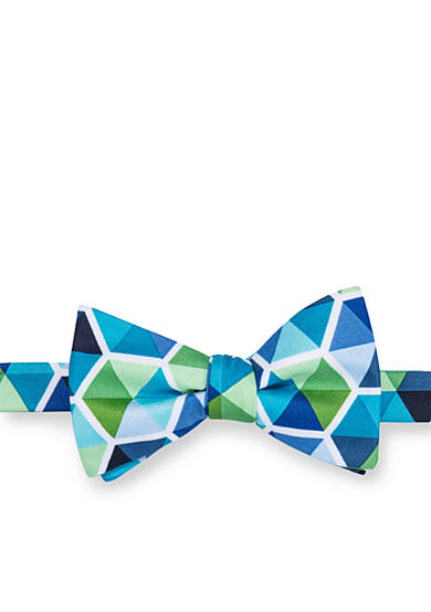 Saddlebred® Pre-Tied Seasonal Norwalk Geo Bow Tie