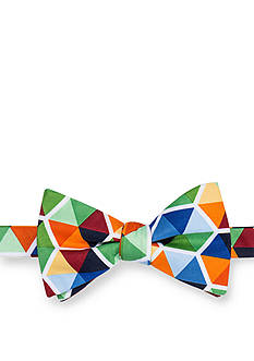 Saddlebred Pre-Tied Seasonal Norwalk Geo Bow Tie