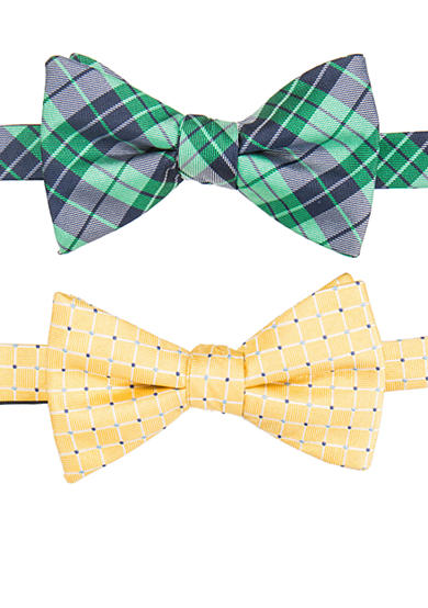 Saddlebred® Pre-Tied Pennington Two Bow Ties in a Box Set