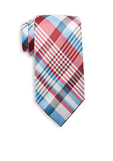 Saddlebred® Puddles Plaid Tie