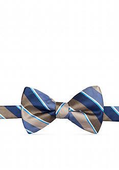 Saddlebred Pre-Tied Zach Stripe Bow Tie