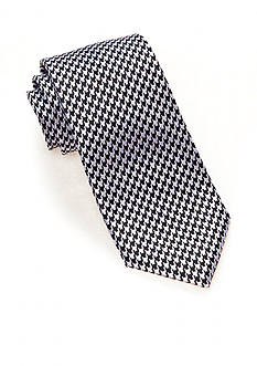 Saddlebred Bear Houndstooth Tie
