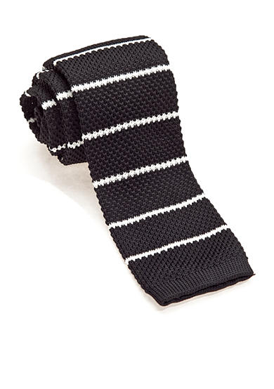 Saddlebred® Stripe Knit Tie