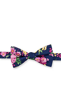 Saddlebred® Sea Garden Floral Bow Tie