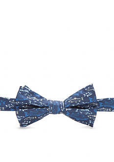 Saddlebred Pre-Tied Harbour Fish Bow Tie