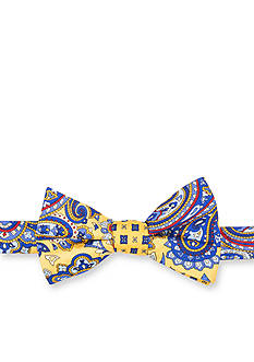 Saddlebred Geer Paisley Neat Bow Tie
