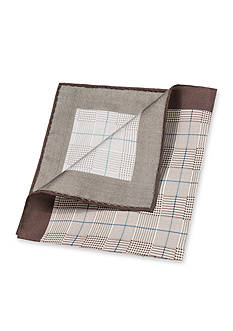 Saddlebred® Kenneth Glen Plaid Pocket Square