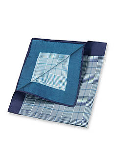 Saddlebred Kenneth Glen Plaid Pocket Square