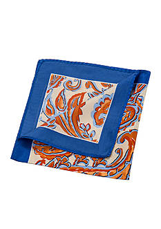 Saddlebred Elliot Paisley Pocket Square
