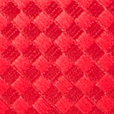 Saddlebred: Red Saddlebred Extra Long Derby Basket Weave Tie