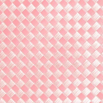 Saddlebred: Pink Saddlebred Extra Long Derby Basket Weave Tie