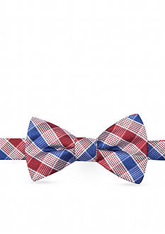Saddlebred® Anthem Check Bow Tie