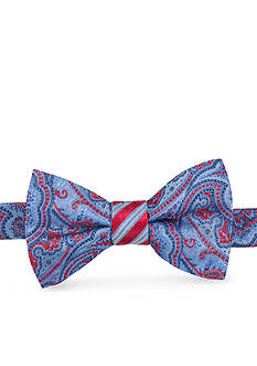 Saddlebred Pre-Tied 2 Felix Pais Stripe Bow-Tie
