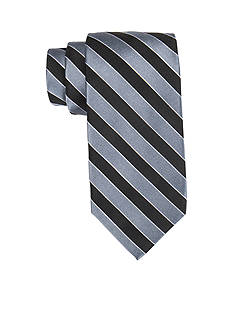 Saddlebred® Extra Long Salem Navy Stripe Tie