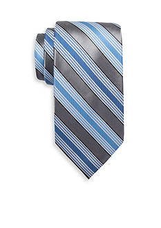 Saddlebred® Extra Long Longcrest Stripe Print Tie