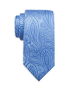 Saddlebred® Extra Long Lychee Paisley Print Tie