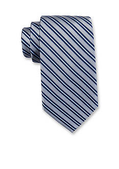 Saddlebred® Extra Long Darby Stripe Tie