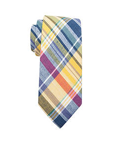 Saddlebred® Alec Madras Cotton Plaid Tie