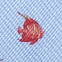 Mens Ties: Novelty: Red Saddlebred Guppy Fish Tie