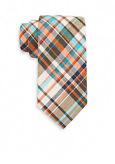 Saddlebred® Dale Madras Plaid Tie