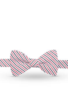 Saddlebred Hatteras Stripe Bow Tie