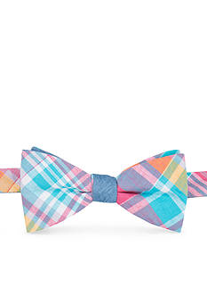 Saddlebred® Pre-Tied Rev Sea Aidan Madras Bow Tie
